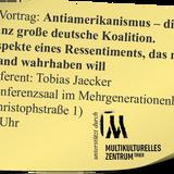 Dr. Tobias Jaecker: Antiamerikanismus - die ganz große deutsche Koalition (12. November 2014)