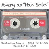 """Avery as """"Han Solo"""" - Live @ Nocturnal Sound (1998.12.11)"""