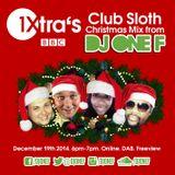DJ OneF: BBC Radio 1Xtra Xmas Mix 2014, hosted by Fatman Scoop