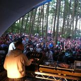 Mr Scruff, MC Kwasi & Veba, Toil Trees Stage at Beatherder, Sunday 1st July 2012