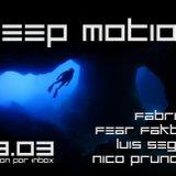 Fear Faktory @ Deep Motion 28.03 ST 4.00hs - 6.00hs