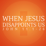 When Jesus Disappoints