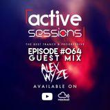 Active Sessions Live #064 Guest Mix Alex Wyze