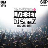 Live set: Syndicate Set x Project Bristol 9-5-15