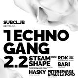 Rdk / Techno Gang / Bratislava 02.02.18