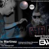 Underground Music Movement - Luis Martinez X B.I.G.WiLLiE 4/21/17 ExclusiveSelectMedia.com