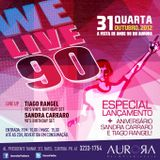 Tiago Rangel 90's Vinyl Birthday Set @ Aurora (31/10/12)