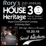 #HOUSEHeritage30 Las Vegas 2 @ Soul Kitchen 10.20.16