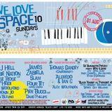 DJ Hell @ Space Ibiza (We Love Sundays) (01-08-2010)