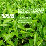 Maya Jane Coles - Live @ Boiler Room (London) - 2013-09-17