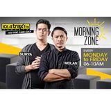 Surya Molan MorningZone TraxFMJKT 17 Januari 2017