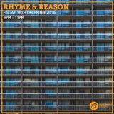 Rhyme & Reason 16th December 2016