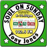 Soul On Sunday 21/01/18 with Tony Jones on MônFM Radio -  S W E E T S O U L  music