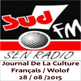 Sud FM Sen Radio - Journal de la Culture - Français / Wolof - 28/08/2015