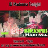 BGS BACKSPIN--WITH DJ MADONNA SEPT. 17TH, 2015