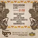 Adrian Hour - Live @ Toolroom Live, Wah Wah Beach Bar, The BPM Festival, México (08.01.2017)