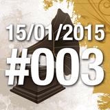Quinta do Vitrolão #003 - 15.01.2015