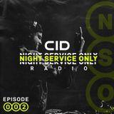 Night Service Only Radio Episode 002