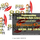889FM Archery Premierensendung 4.3.2016 presented by Michael Cay