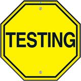 Testing, Testing! - Recorded Nov 2017