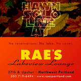 Live at Rae's Lakeview Lounge Sept. 27th 2014