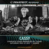 Cassy - live at Movement Festival 2017 (Detroit) - May 2017