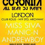 Miss Siva - Live @ Club Kolis,London Coronita All Stars Dj Party (2012-10-20)