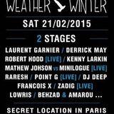 Laurent Garnier - Live @ Weather Winter - 25th February 2015