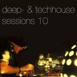 Deephouse & Techhouse Sessions 10 - October 2013 - 3hrs set