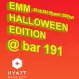 DimaAlien-live@bar191EMM Halloween Edition 27.10.2018