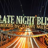 Late Night Bliss-Mixed by DJ Wil Milton