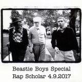 Rap Scholar 4.9.2017: Beastie Boys Special