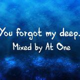 You Forgot My Deep....