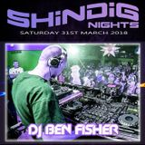 DJ Ben Fisher @ Shindigs - The Gallery March 31st 2018