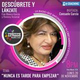 DESCUBRETE Y LANZATE CON BLANCA GARCIA-NUNCA ES TARDE PARA EMPEZAR-11-20-2017