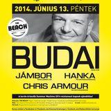 Budai - Live @ Time Machine Open Air The Beach Fehervarcsurgo 2014.06.13.