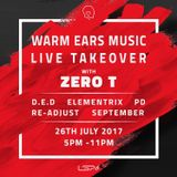PD - Warm Ears Music Live take over at LSA 26th July 2017