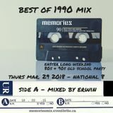 MEMORIES - Best of 1990 (Side A) mixed by Erwin