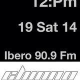Dj Chinno-Ibero 90.9 Fm Mexico City 18 june 14