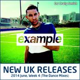 2014-06-22 June Week 4 New UK Chart Releases (The Dance Mixes)