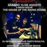 House Of The Rising Sound - Reese Device & Josema Selles (4ª Edicion Promo CD)