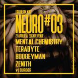 Zenith at Neurofunk vol 3 party