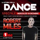 LA STORIA DELLA DANCE - SPECIALE ROBERT MILES