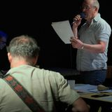 Lecture musicale des lettres de non-motivation de Julien Prévieux par le groupe Sukara.
