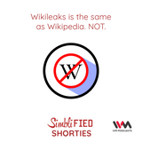 Ep. 134: Wikileaks is the same as Wikipedia. NOT.