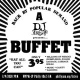DJ YardSale presents...A DJ YardSale presents buffet 3-9-2020