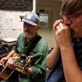 Ernie Hawkins and Clint Hoover, live on WRCT's Whiskey Before Breakfast, Wed 9/18/19