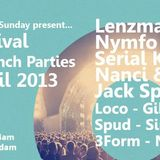 GIBBO / NIXUS FEAT. MR.MULTIPLEX 22 - 04 - 2013 OUTLOOK FESTIVAL LAUNCH PARTY!!! CHEEKY MONDAY RADIO