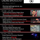 20170530 20-21h (Gmt+1) Exclusive PrOmO-Factory Radio Show w/Zoltán Katona (Kato) (Homeradiogroove)