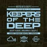 Keepers Of The Deep Ep 34, DJ Deep Flava (Chicago), & Antonio Nazario (Philly), Deep C Hosts.